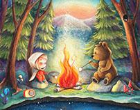 Forest dinner