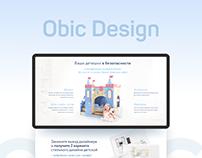 Obic - Landing Page