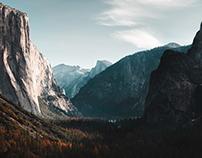 The world famous Yosemite National Park