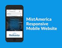 MistAmerica Responsive Mobile Site