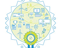 Energieeffizienzpreis | KeyVisual | TheGA