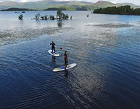 Paddle Boarding - Loch Lomond - Portnellan Farm