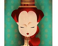 La dama rossa