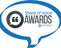 Share of Voice Awards 2015 Certificate Designs