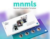 mnmls - Keynote Presentation Template