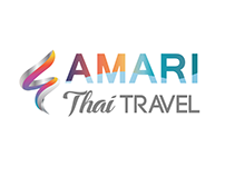 Amari Thai Travel Logo Design