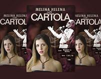 Flyer for Show - Melina canta Cartola