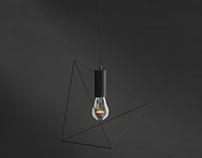 Lamp packshot Rendering Wizualizacja produktowa