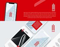 Magnus Builders Mobile App UI Design.