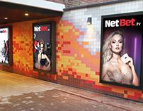 NetBet BR metro posters