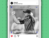 Nike Golf Club Win Animation