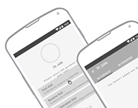 UX Android Wireframes