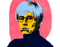 Andy Warhol Pop Art Poster