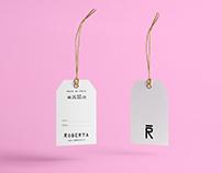 Tarjeta&etiqueta / Roberta