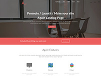 Again Landing Page