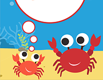 "The book ""Curious Crab"""