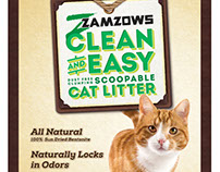 Zamzows Clean and Easy Cat Litter