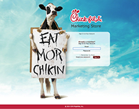 Ckick-fil-A Marketing Portal (THP Creative Group)