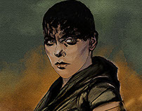 Furiosa from madmax