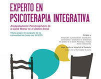 Cartel Experto en Psicoterapia Integrativa