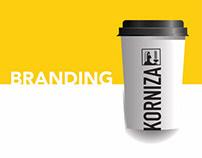 Cafe // branding // korniza