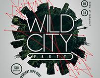 Wild City Flyer Template
