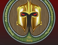 """The Family"" guild logo (knights and dragons App)"