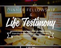 Dinner Fellowship Poster