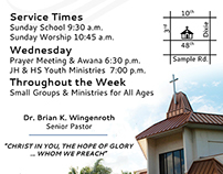 Newspaper ads for Grace Baptist Church