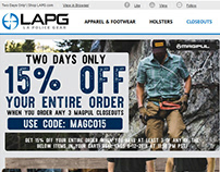 Magpul Flash Sale and 15 Off Email Specials