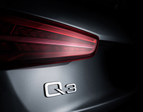 Audi Q3 fine art photography