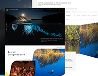 Untamed - NatGeo Photography Redesign
