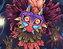 Legend of Zelda Majora's Mask Skull Kid