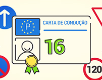 New portuguese driver's license - infographic video