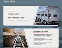 Términal Logistics - Sitio web