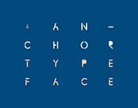 Anchor — Typeface