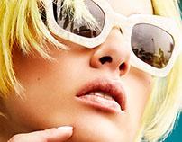 Hair & makeup : Delphine Goichon - Schon Magazine