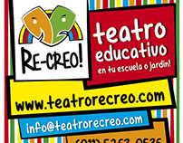 Stickers y Banner - Re-creo!