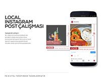 Local Cafe Alanya - Instagram Template