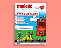 Publication Design - MAKE Magazine