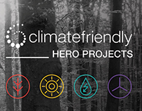 Climate Friendly, Hero Projects.