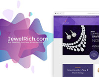 JewelRich | Website UI