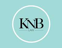 KNB law brand design