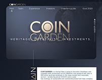 Coin Garden | Landing page | Coin garden