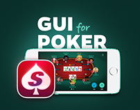 Poker App GUI | Desktop & Mobile