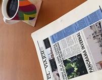El Viajero newspaper