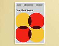 The Black Seeds Music Poster