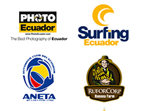 Logotipos y Marcas creadas por Sebastián Yela