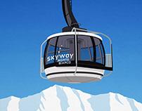 Courmayeur Ski Resort Poster