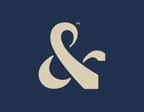 Tied Together luxury menswear brand identity